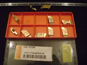 10 Sandvik Top Notch Tlg 3125l Carbide Inserts Grade 1015 Free Shipping