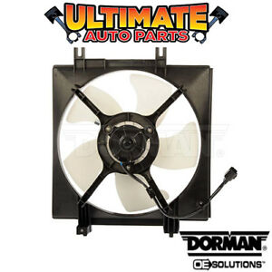 A C Condenser Cooling Fan 2 5l Non Turbo For 05 14 Subaru Legacy
