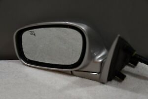 2009 2010 2011 Lincoln Town Car Left Driver Side View Mirror Heated Silver Oem
