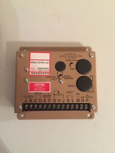 Electronic Engine Speed Governor Controller Speed control Unit Esd5500e