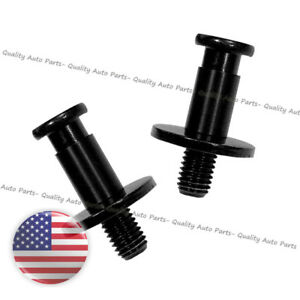 Tailgate Door Latch Striker Bolt Pair Set For Chevy Gmc Cadillac Hummer