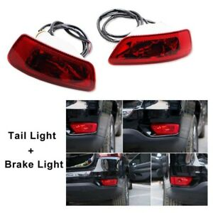 Led Rear Bumper Fog Light For 2011 2018 Jeep Grand Cherokee Wk2 2011 16 Compass