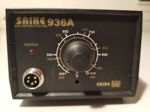 Saike Soldering Station 936 A Base Only Works Tested No Iron