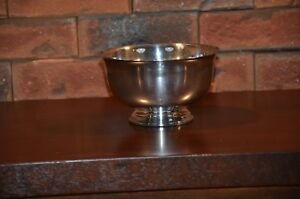 Reproduction Paul Revere Wm Rogers Silver Plate Bowl