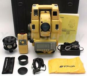 Topcon Gpt 8003a 3 Robotic Total Station Solo Surveying System 8003a Gpt 8000a