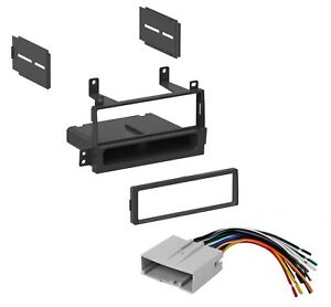 Car Stereo Radio Dash Installation Kit W Harness For 2003 2011 Lincoln Town Car