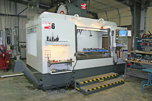 Haas Vf6 Cnc Verticle Machining Center 3 Axis 4th 5th Axis Ready 2014