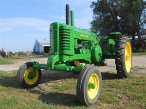 1945 John Deere Awh Antique Tractor