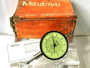 Used Mitutoyo No 2918 10 001 005 Dial Indicator
