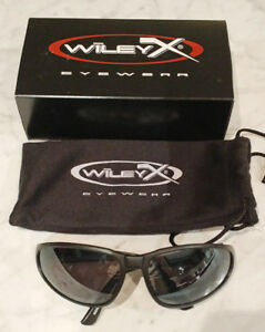 Wiley X Protective Sunglasses Romer Silver Steel New