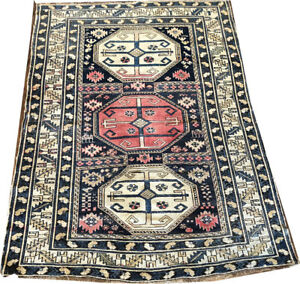 An Antique Caucasian Shirvan Area Rug