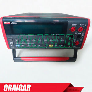 Bench Type Digital Multimeter Uni t Ut805a With 199999 Max Display Rs232c