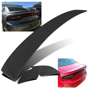 For 2011 2018 Dodge Charger 3pc Factory Style Flush Mount Abs Trunk Spoiler Wing