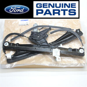 Front Driver Side Left Lh Power Window Regulator With Motor For Ford Mercury