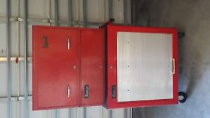 Snap on Vintage 3 Section Tool Box Combination