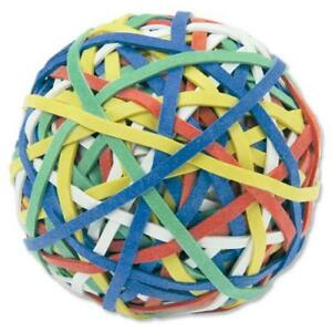 5 Star Rubber Band Ball Approx X 200 Bands Assorted Colours 90g