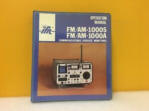 Ifr 1002 2381 200 Fm am 1000s 1000a Communications Service Monitor Op Manual