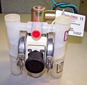 New Wilden 1 4 Double Diaphragm Pump Poly 1 4 Plastic Pump M612010 A 025 pppa