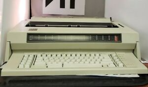 Ibm Wheelwriter 6 Electric Typewriter 674x Tested Works Perfectly Vintage 1987