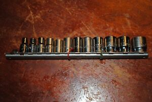 Matco Tools Mac 12 Piece 1 4 Drive Sae Metric 6pt Lot