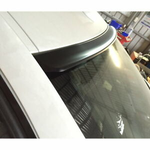 Flat Black 384 Lyw Type Rear Roof Spoiler Wing For 2009 15 Cadillac Cts v Sedan