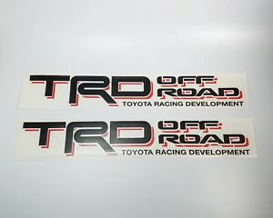 Toyota Bed Side Trd Off Road Tacoma Tundra Decal Sticker Vinyl Set 1995 2004