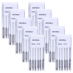 20 Packs Dental Gates Glidden Drill 32mm Files 1 6 Endodontics Root Canal New