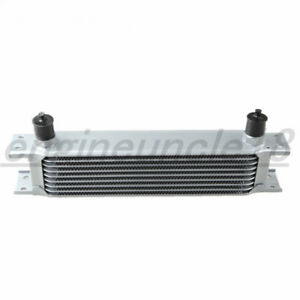 Us Universal 9 Row An10 Aluminum Mocal Style Engine Transmission Oil Cooler