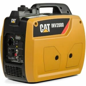 Cat Inv2000 1800 Watt Portable Inverter Generator