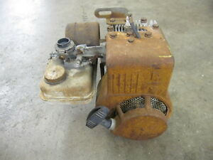 Vintage Briggs Stratton 61102 Stationary Engine Go Kart Mini Bike Eclipse Reel