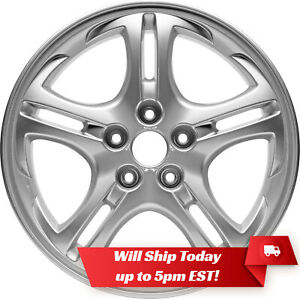 New Set Of 4 17 Replacement Alloy Wheels Rims For 2003 2006 Hyundai Tiburon