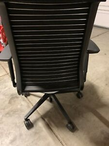 Steelcase Think Chair Adjustable Arms Adjustable Lumbar
