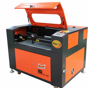 Up And Down Table With Rotary Axis 80w Co2 Laser Cutting And Engraving Machine