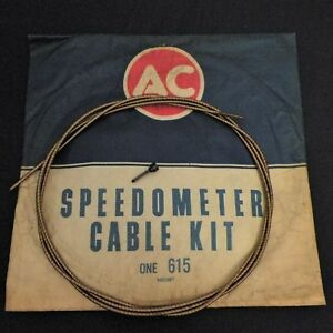 Nos 37 70 Chevy Passenger 53 58 65 67 Corvette Speedometer Cable Gm 6451067
