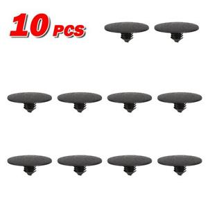 10pcs Hood Insulation Plastic Retainer Rivet For 2010 2011 2012 Ford Fusion 10