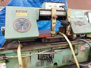 Doall Model Ct 1216a Automatic Horizontal Band Saw W Mitering Just Removed