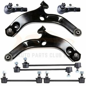 For 2002 2003 Mazda Protege 5 8pcs Front Lower Control Arms Suspension Kit