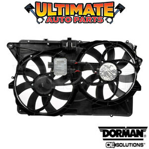 Radiator Cooling Fan With Controller 3 5l V6 For 2009 Ford Flex