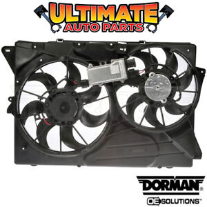 Radiator Cooling Fan With Controller 3 5l Or 3 7l For 10 12 Lincoln Mkt