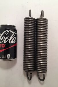 242 Wire Heavy Duty Extension Spring Lot Of 2