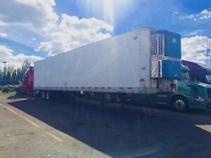 2000 Wabash Hicube Reefer Trailer van 53 Ft Thermo King Whisper