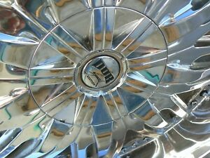 Set Of Four 24 Dub Chrome Wheels Tires