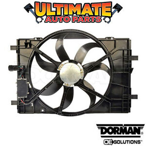 Radiator Cooling Fan With Controller 3 0l V6 For 2006 Lincoln Zephyr