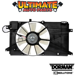 Radiator Cooling Fan With Controller 2 3l 4 Cylinder For 06 10 Mazda 5