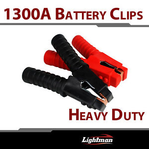 4pair 1300a Heavy Duty Battery Jumper Cable Clamp Clip Booster Lead Electrical