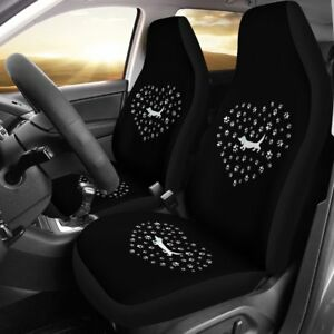 Cpc Love Dachshunds Heart Car Seat Covers