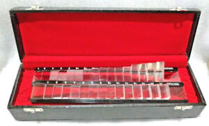 Prism Bar Set Vertical Horizontal For Ophthalmology Optometry Equipment 2set