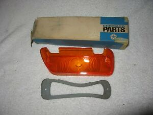 Nos Mopar 1968 69 Plymouth Gtx Right Park Light Lens
