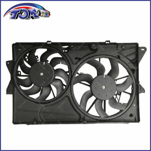 New Radiator Cooling Fan Assembly For Ford Taurus 3 5l V6 2013 2018 Explorer