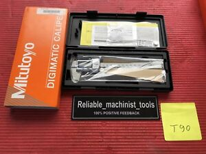 new Mitutoyo Japan Made 6 Inch Digital Caliper 500 762 20 cd p6 m Ip67 t90